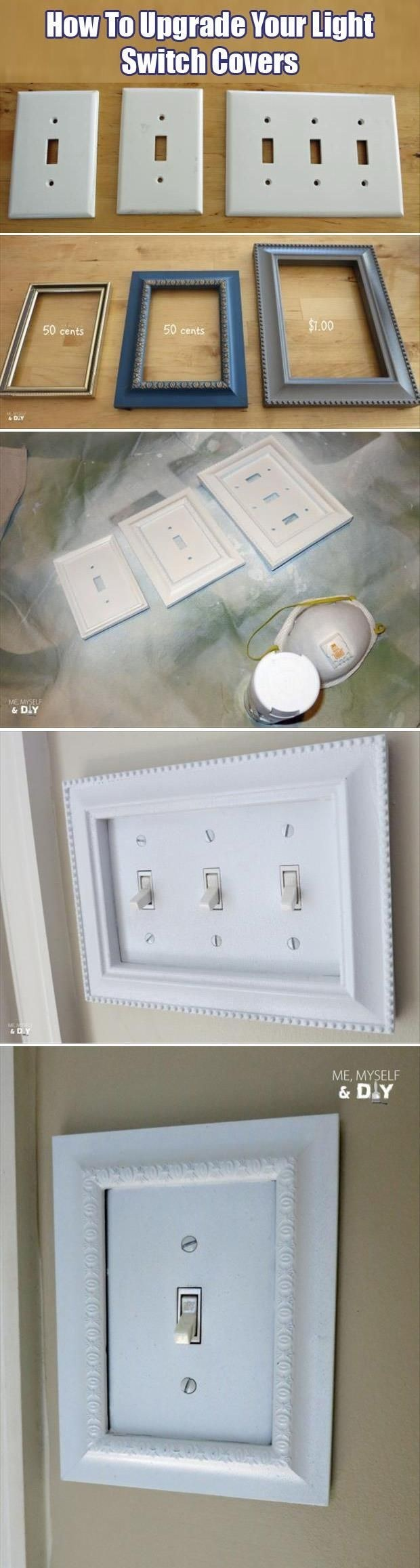 Expensive looking cheap diy home upgrades you can do in no time 15switch frames solutioingenieria Choice Image