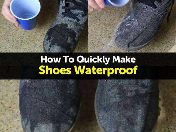 Make Shoes Waterproof1