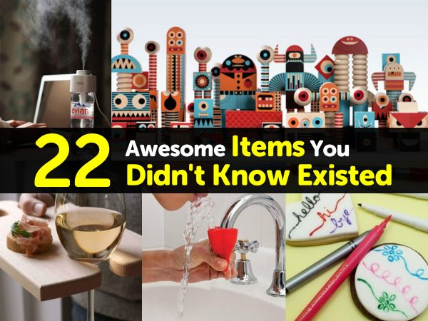 22 Awesome Items You Didn't Know Existed