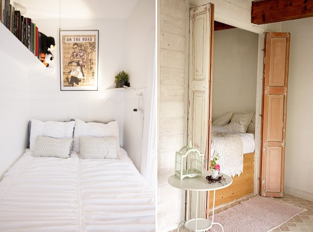 24 hacks to get the most out of a tiny bedroom - Room with no closet ...