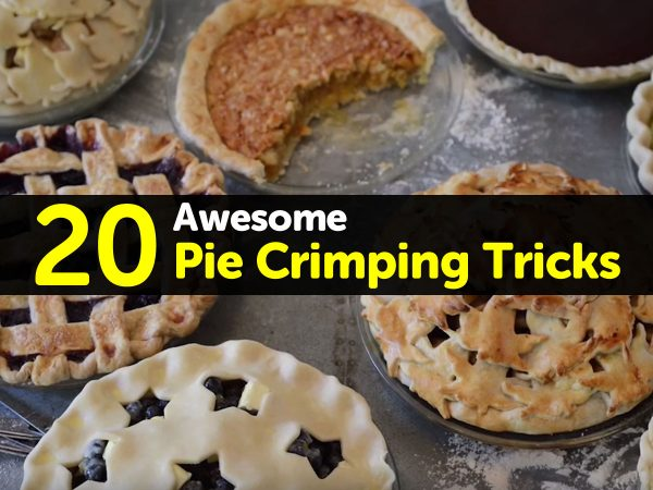 20 Awesome Pie Crimping Tricks