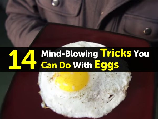 14 Mind-Blowing Tricks You Can Do With Eggs