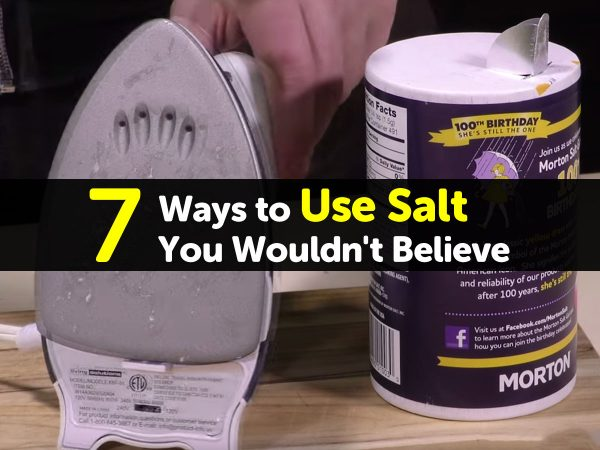 7 Ways to Use Salt You Wouldn't Believe