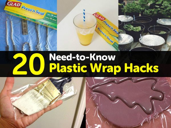 20 Need-to-Know Plastic Wrap Hacks