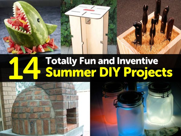 14 Totally Fun and Inventive Summer DIY Projects