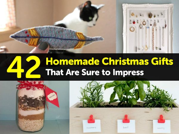 42 Homemade Christmas Gifts That Are Sure to Impress