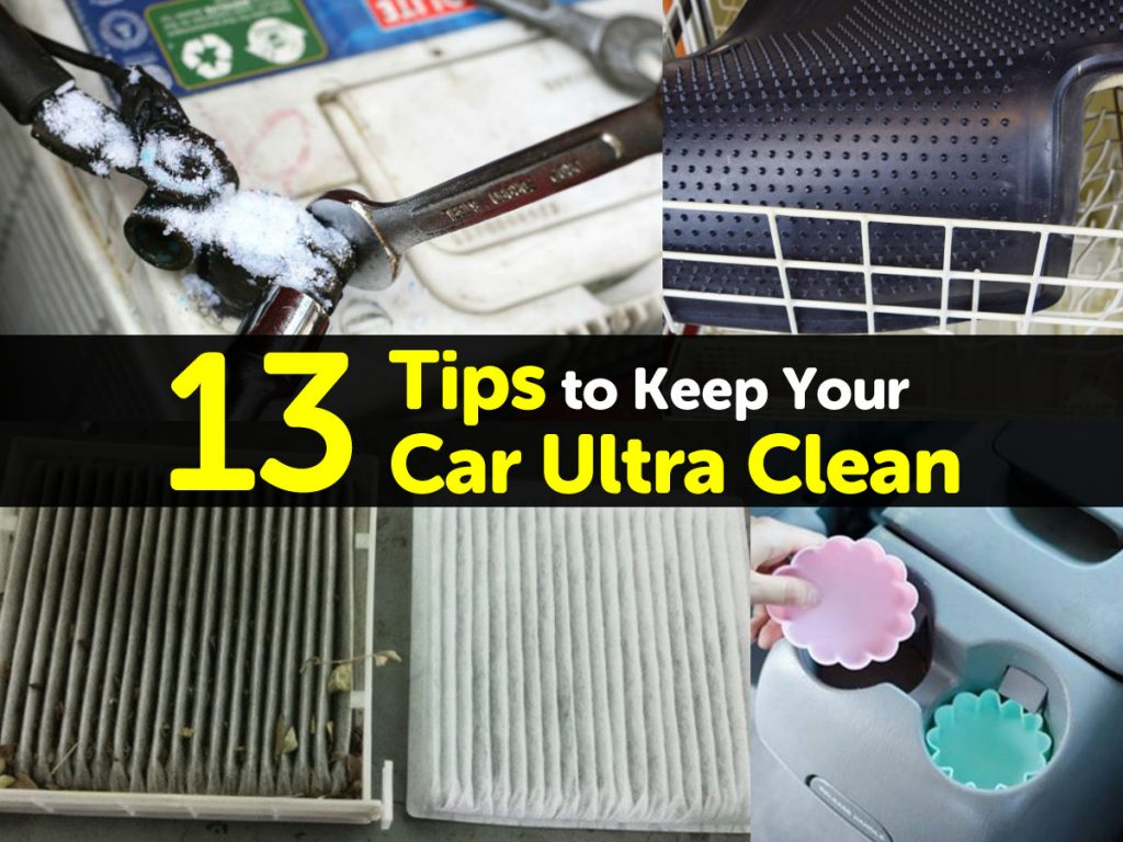 13 tips to keep your car ultra clean How to keep your car exterior clean
