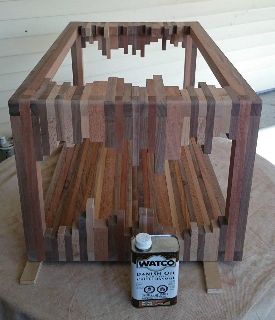 Danish Home Design Ideas: How To Make A Beautiful Coffee Table From Wood Scraps