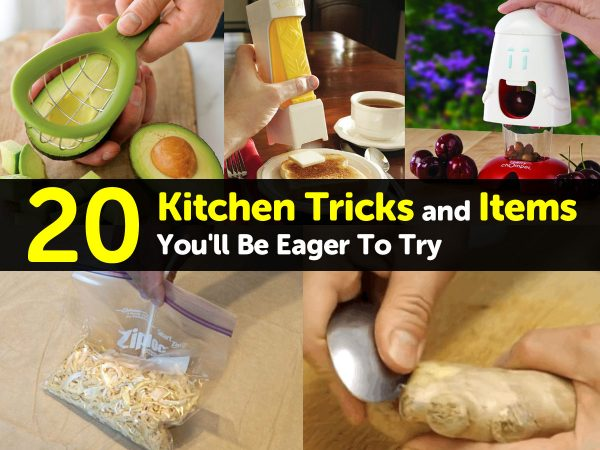 20 Kitchen Tricks and Items You'll Be Eager To Try